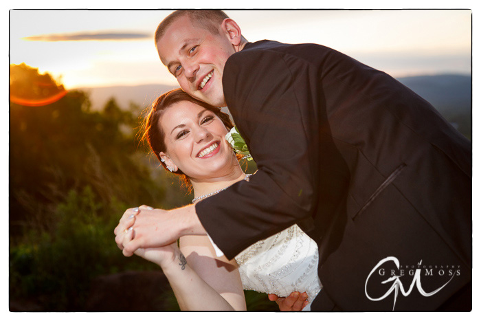 Western Mass Wedding photography at the log cabin