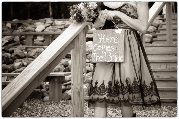 Here comes the bride, Western Massachusetts Wedding photographer
