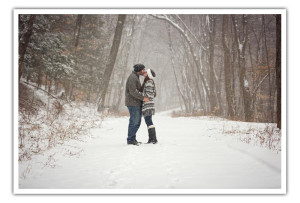 Forest Park Engagement Photography