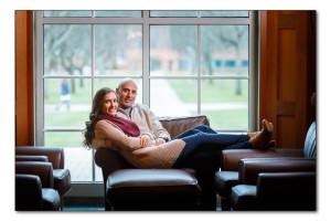 Quinnipiac University engagement photography