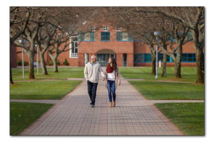 Quinnipiac University engagement photography