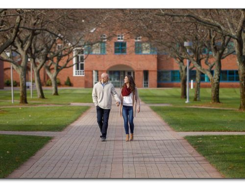 Lindsey and Scott | Quinnipiac University Engagement Photography | Hamden Ct.