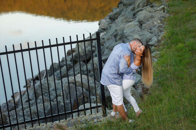 Beautiful engaged couple