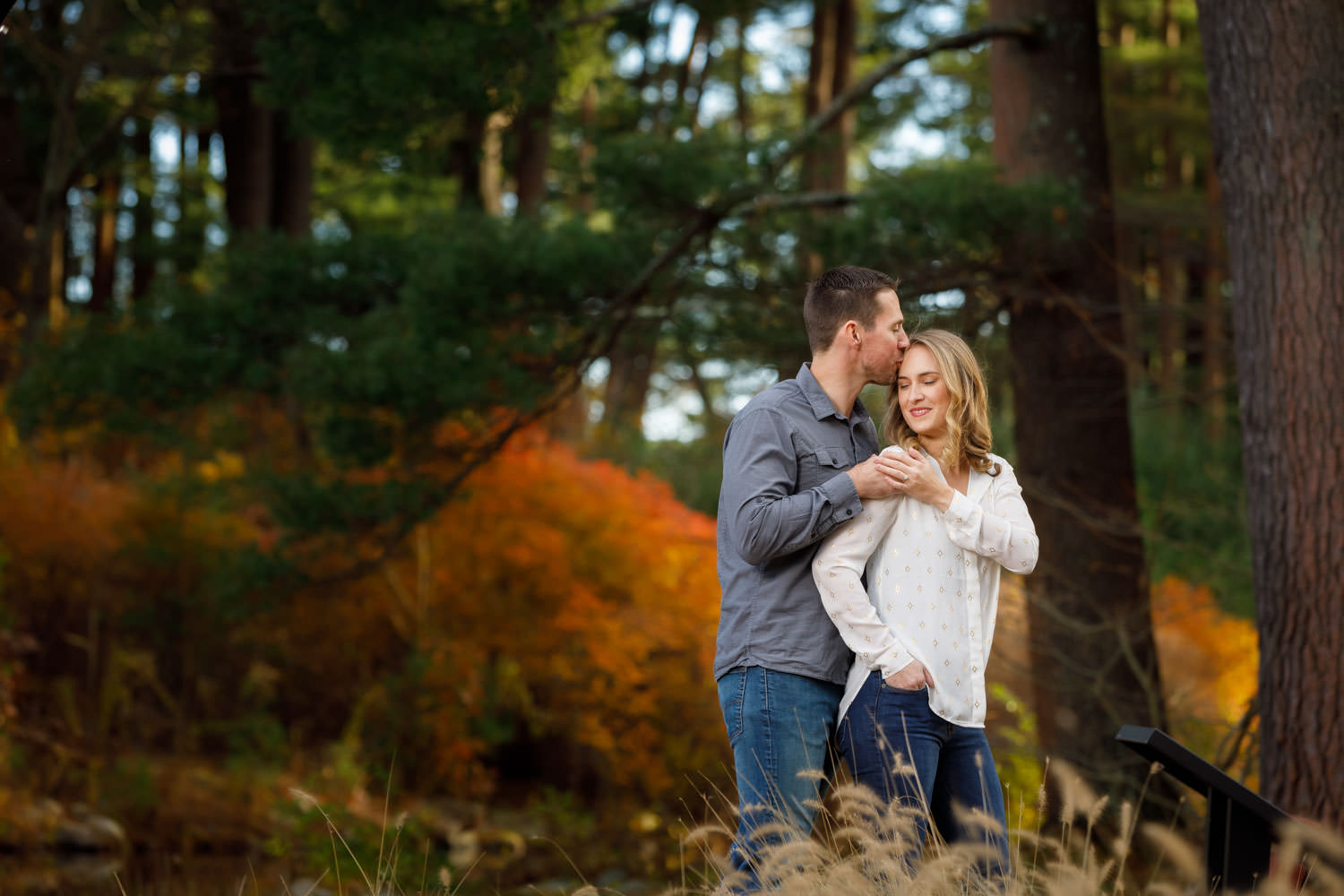 Western Ma engagement photography