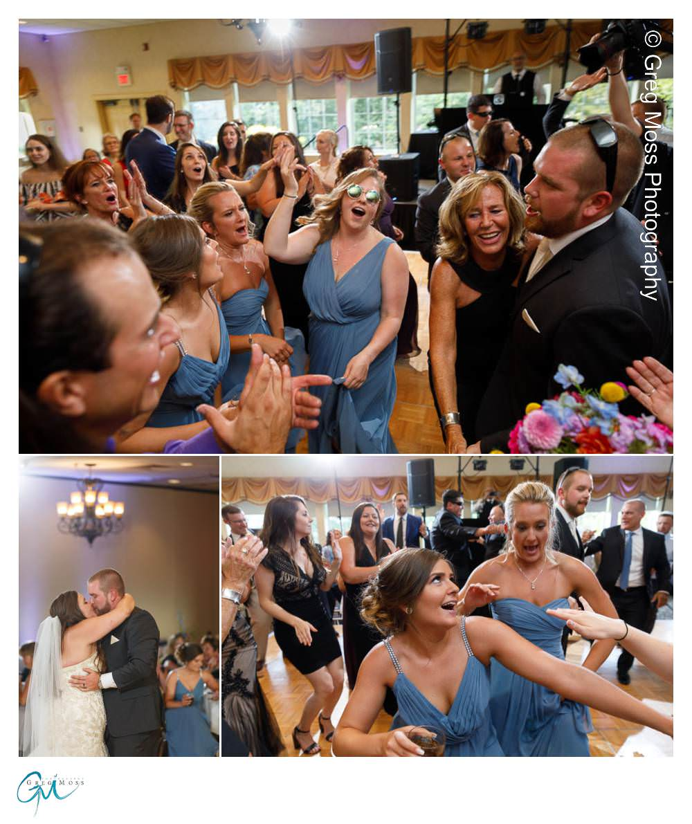 Bride and Groom first dance, Bridal party introductions