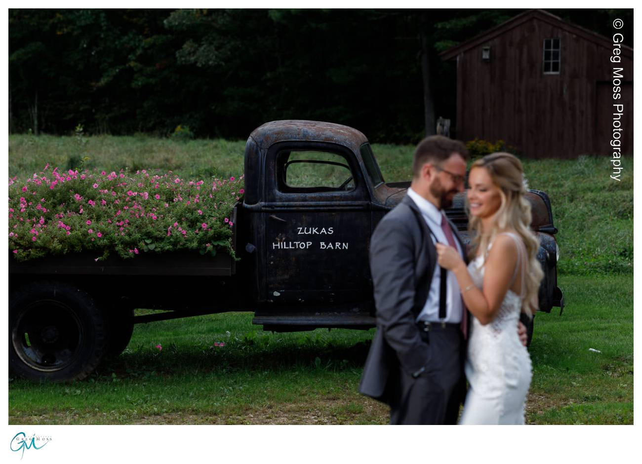 Zukas Hilltop Barn Wedding