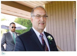 Father of the bride with boutonniere