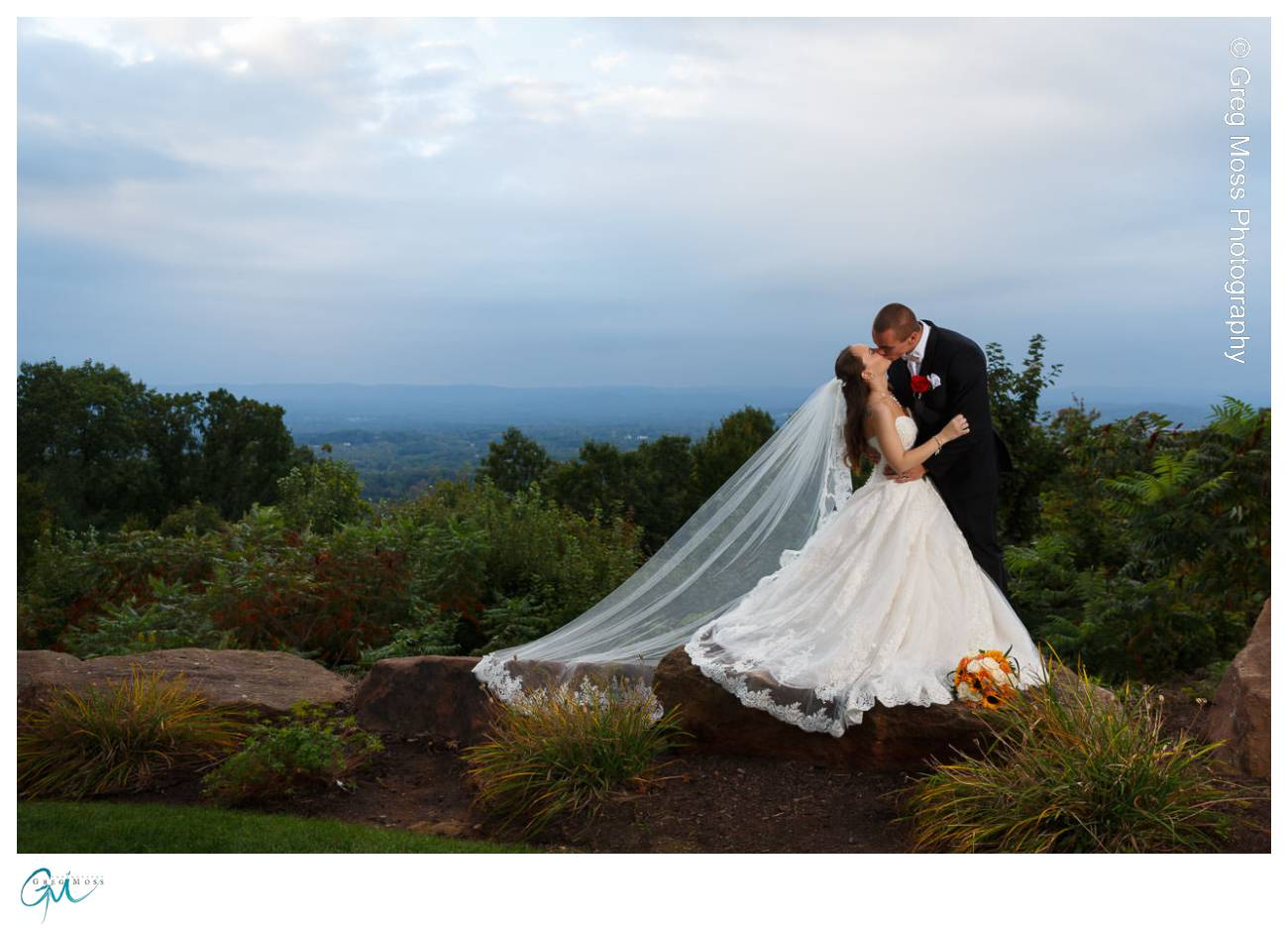 Log Cabin Wedding Easthampton Ma
