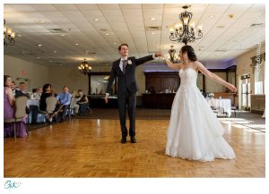 Bride and Groom Fist dance