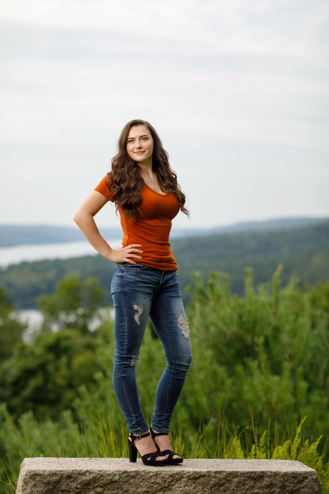 Senior Photos Quabbin Reservoir