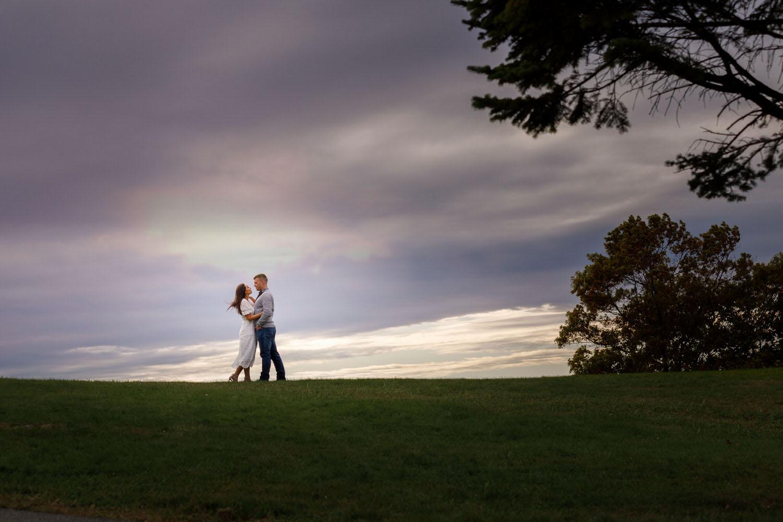 Quabbin Reservoir engagement photo
