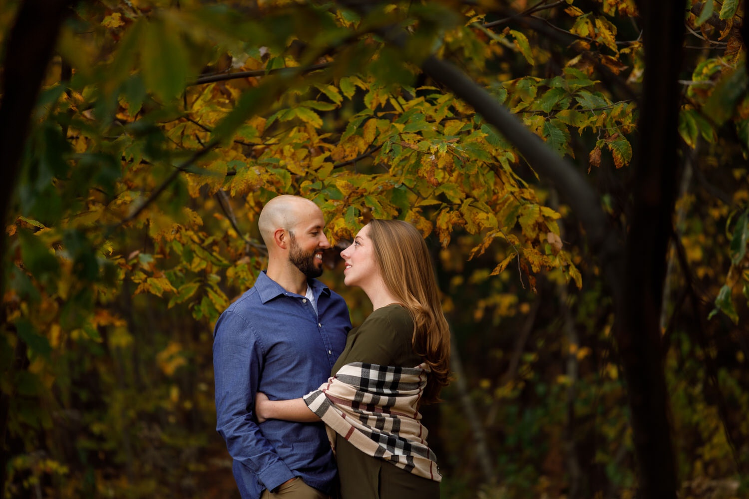 Moore State Park Engagement Photo