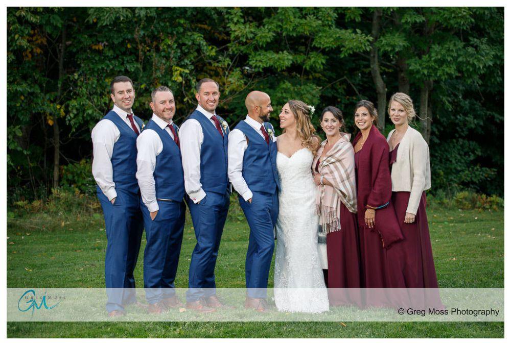 Wedding photo at Jiminy peak
