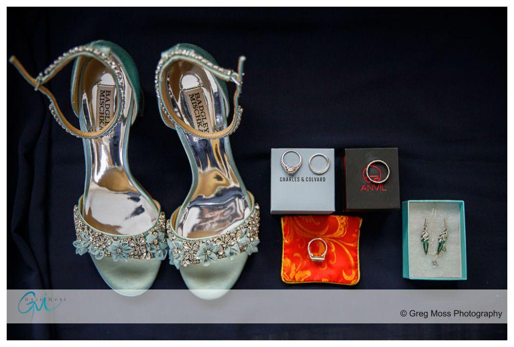 Wedding details, shoes, ,rings, earrings,