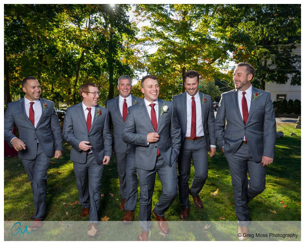 Reservoir Dogs Groomsmen walk