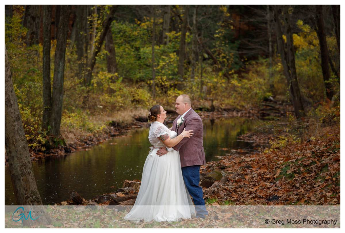 Wedding couple by fuller Brook