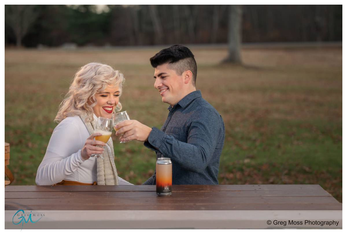 engagement photography in Belchertown