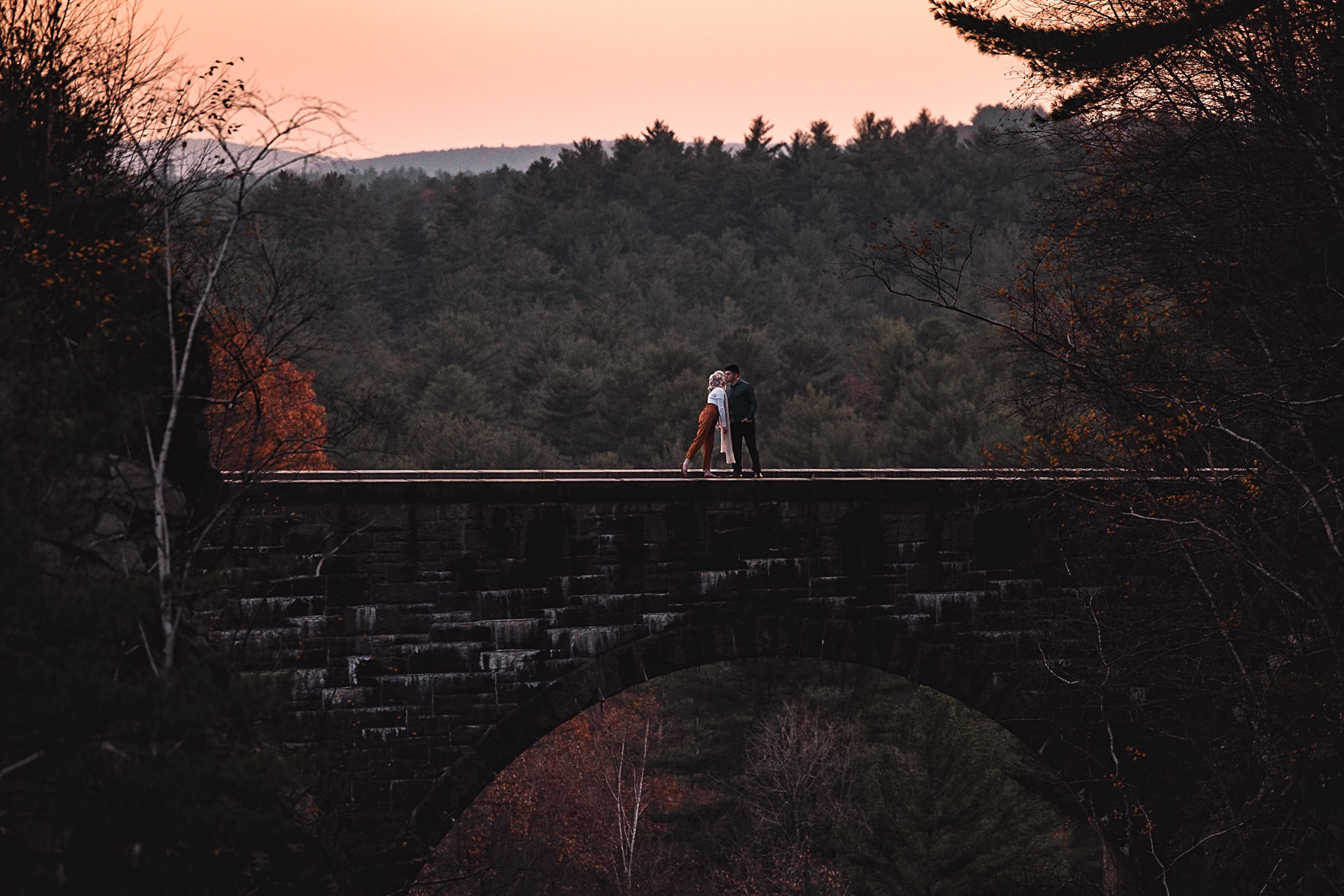 Quabbin Reservoir engagement photo