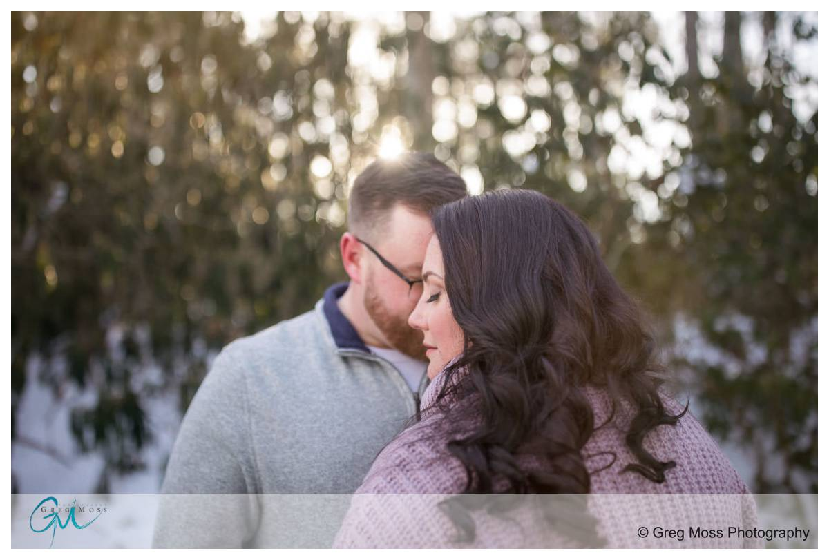 engagement photos at Moore State Park