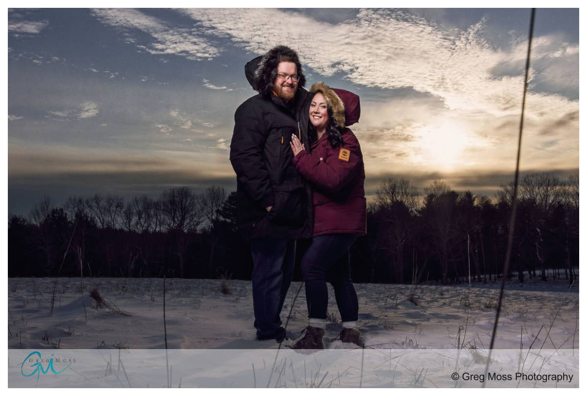 Moore State Park engagement session