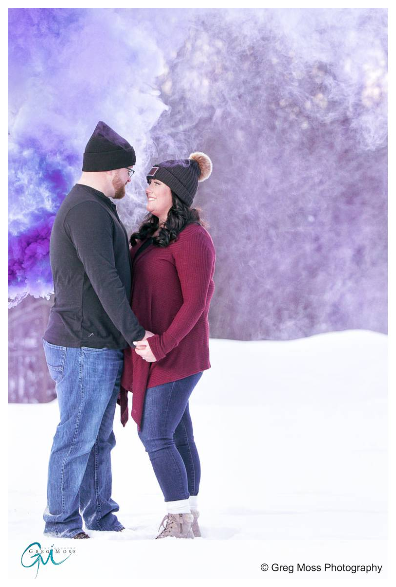 Moore State Park Engagement Photos