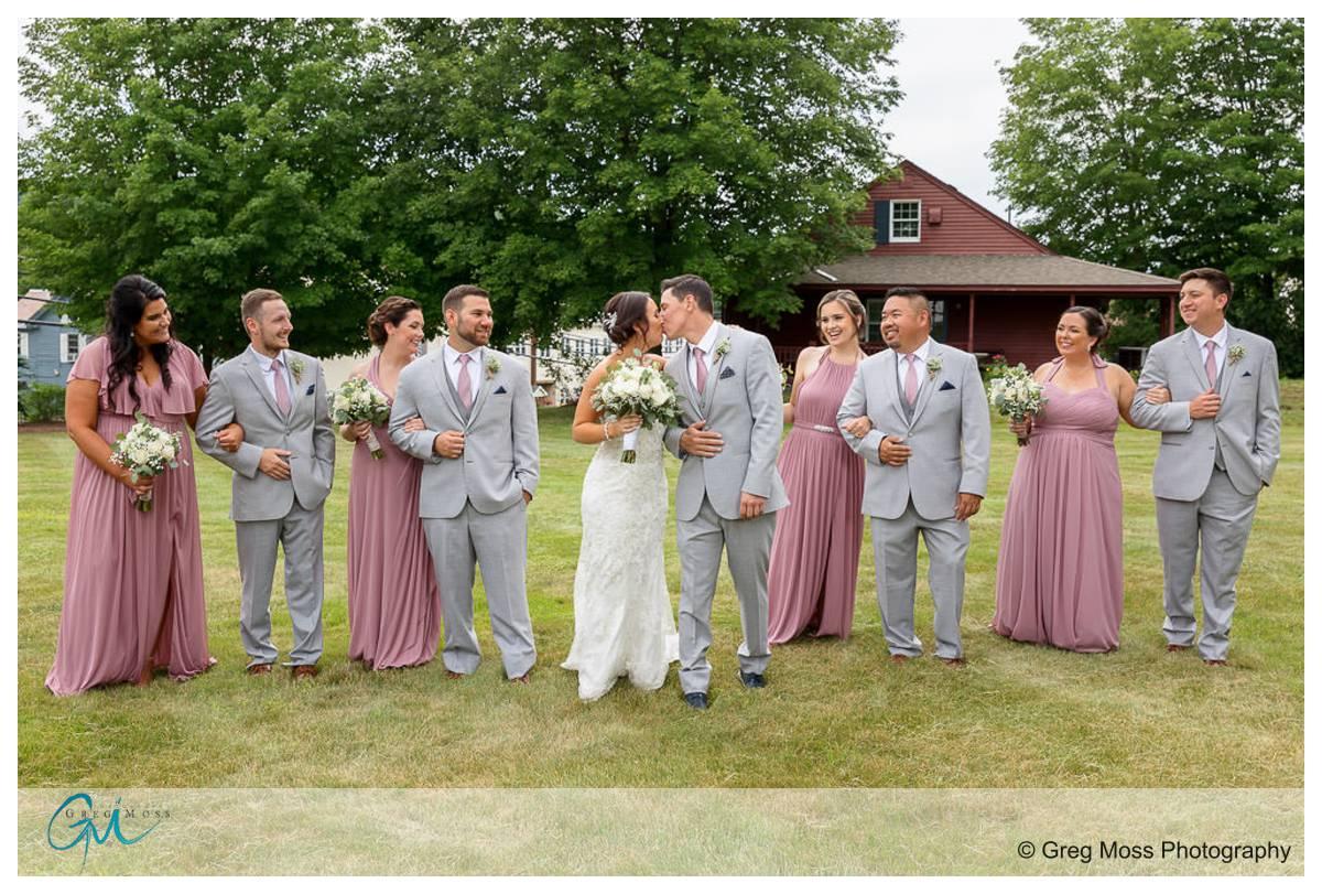 the Barn at Wight Farm Wedding photographer