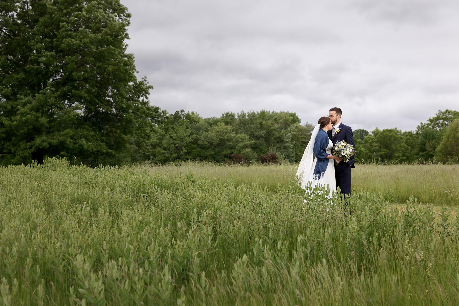 Hampshire College Wedding Photo