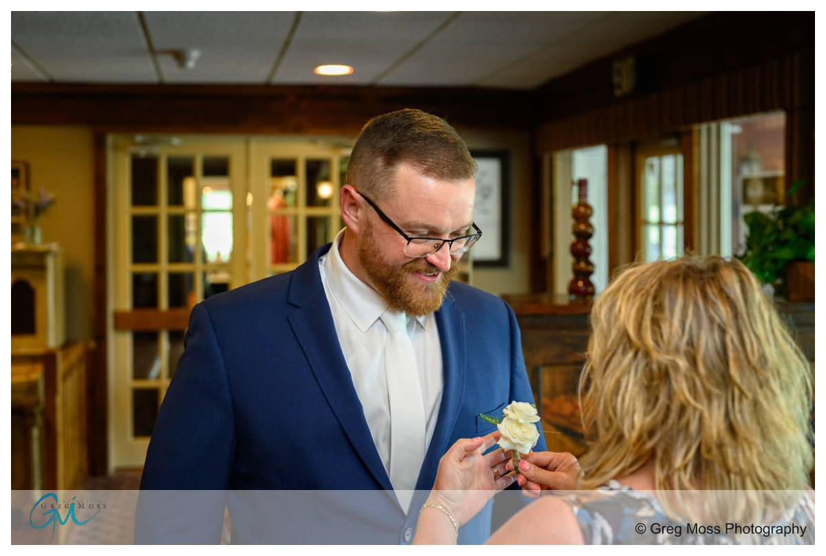 Wedding photography at Blissful meadows golf course