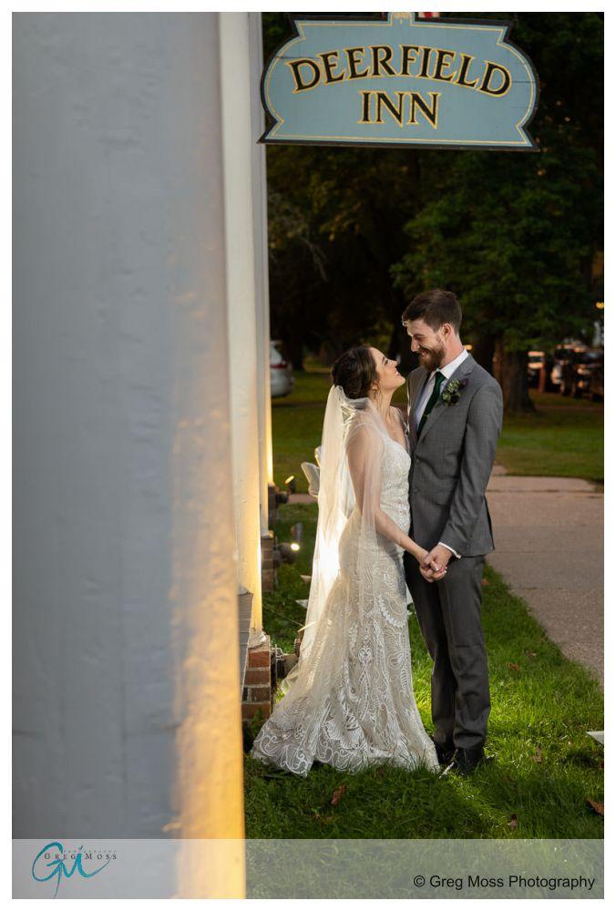 Deerfield Inn Wedding