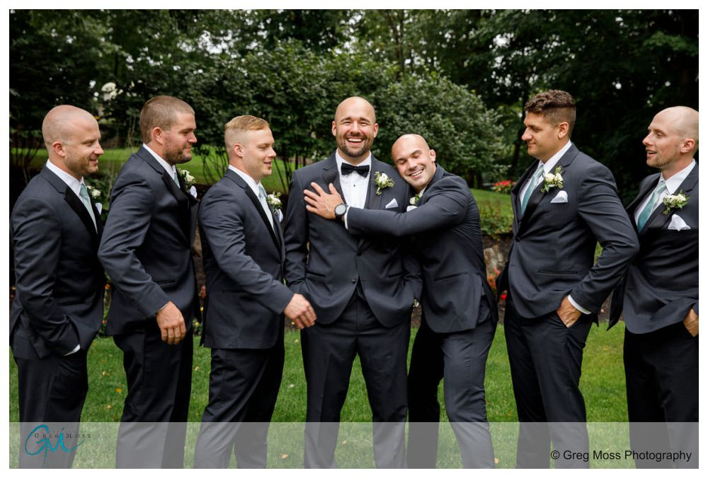 Wedding photos at the Log Cabin/Delaney House